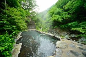 渓流野天風呂《仙郷湯》