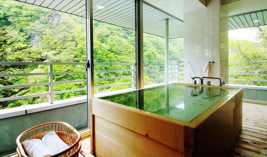 檜展望風呂付特別室
